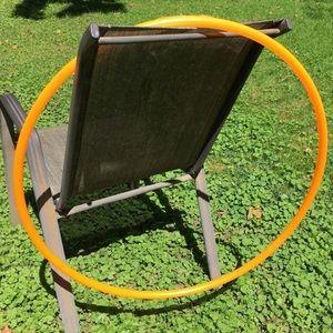 "28"" OD Orange Hula Hoop"